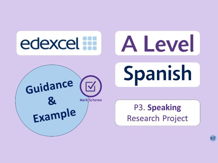 A-Level P3-Speaking. Research Project