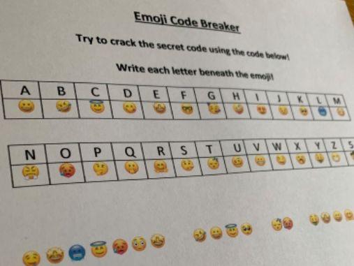 Transition Emoji Code Breaker