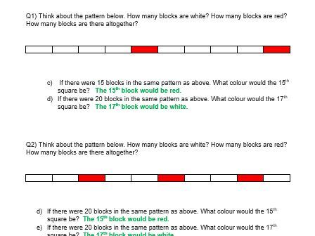 Reasoning Activity - Differentiated  - Year 4 and Year 5