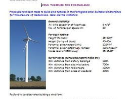 Wind Farm Decision Making GIS