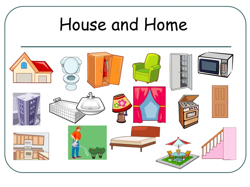 House and Home Presentation (Flashcards) FRENCH