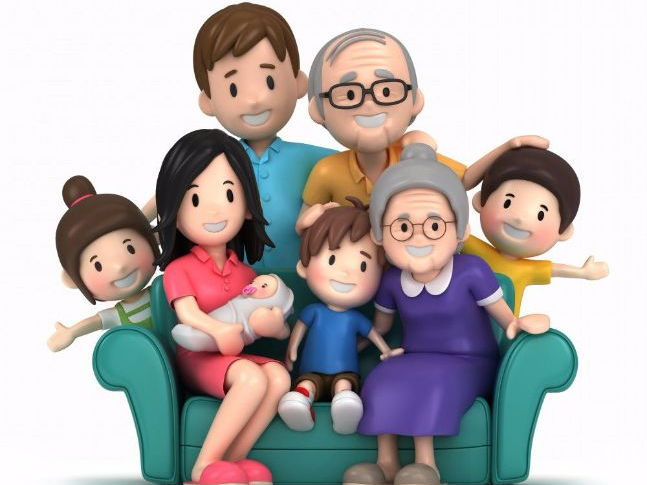 French - Family Relationships Package (Les Rapports Familiaux)
