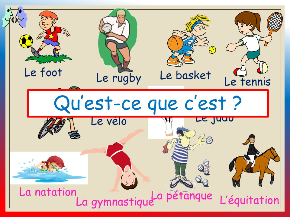 LE SPORT_ vocabulary and pronunciation  KS1-KS2 (audio files included)