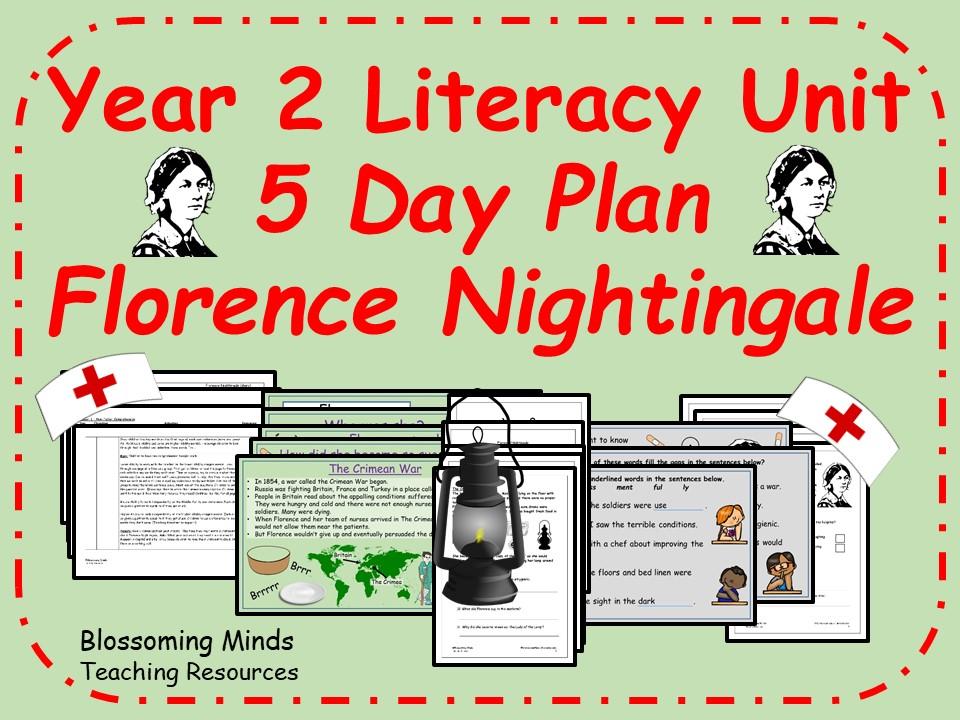 Florence Nightingale - Year 2 Literacy 5 day plan