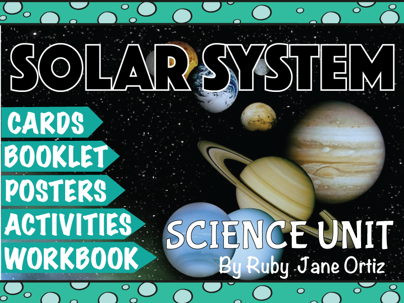 Solar System Science Unit