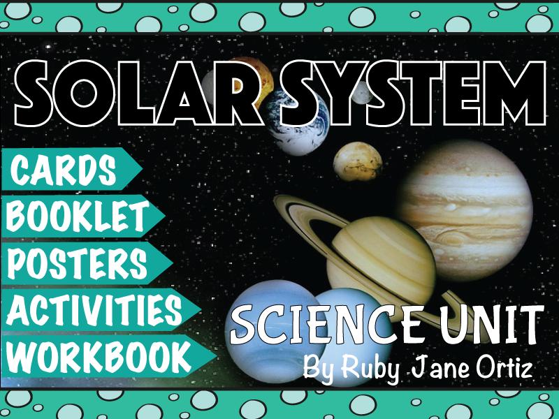 Solar System Science Unit