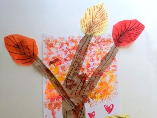 Pointillism Tree: Improvise Your Own Art Tool, Patterns and Pumpkin Animation