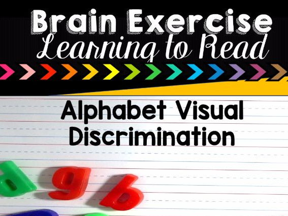 Brain Exercises for Learning to Read and Alphabet Letter Recognition