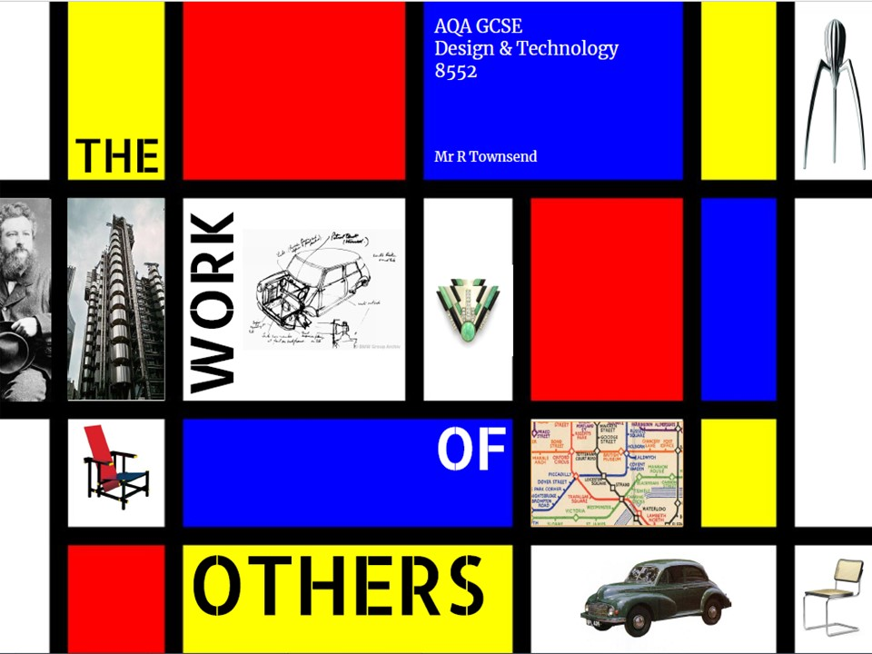 AQA D&T GCSE The Work of Others