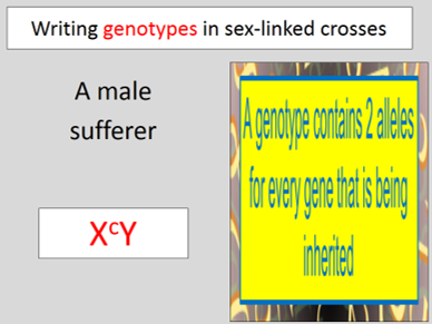 Sex-linkage