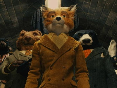 Mise en Scene Fantastic Mr Fox