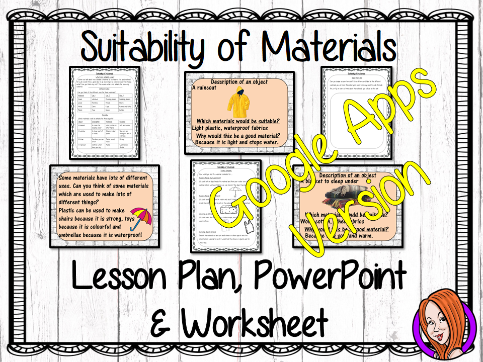 Distance Learning Suitability of Materials Google Slides Lesson