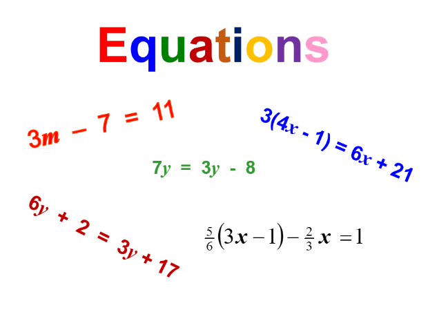 Solving equations and equations with brackets and fractions