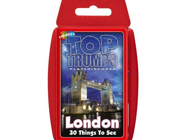 30 Things To See In London Official Top Trumps - Full Deck