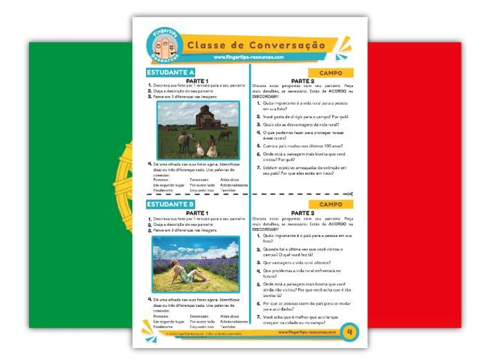 Campo - Portuguese Speaking Activity
