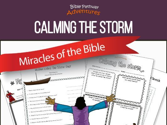 Bible Miracles: Calming the Storm