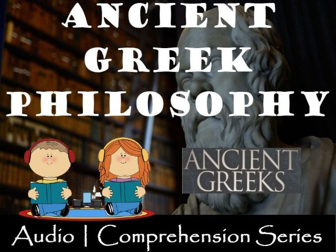Ancient Greek Philosophy | Distance Learning | Audio & Comprehension