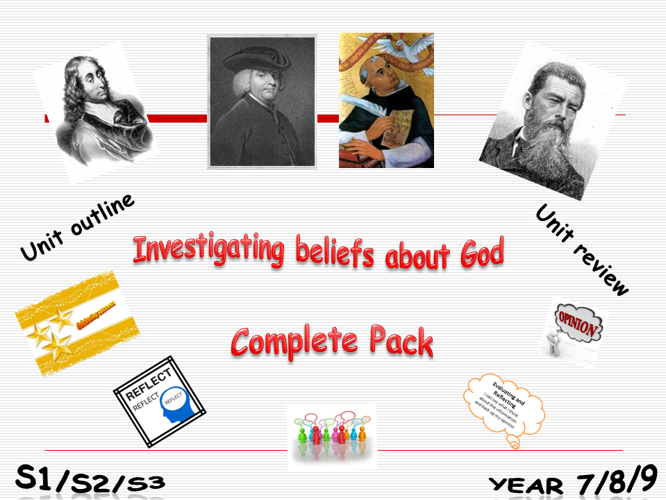 Investigating beliefs about God complete pack