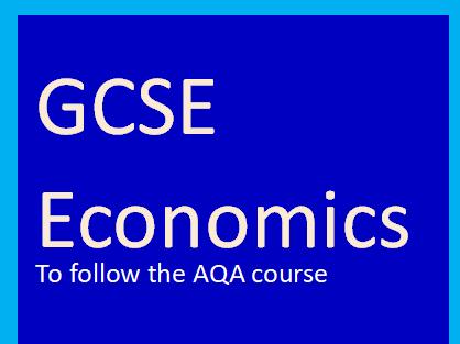 AQA GCSE Economics case study - Education