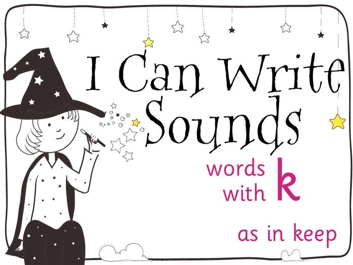 Magic Sounds Phonics Set 37 words with k (as in keep)