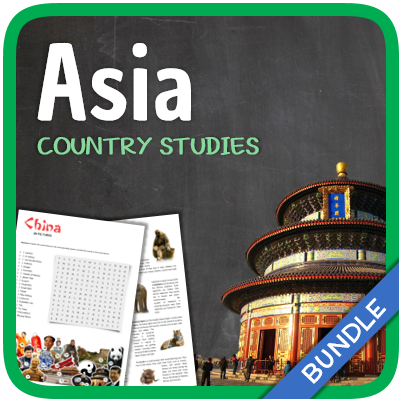 Country Studies Bundle (Asia)