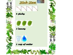 Outdoor Recipe Book- forest school, mud kitchen