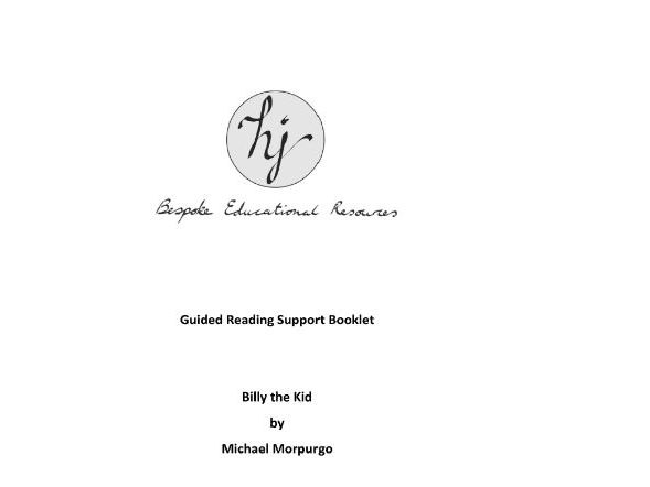 Billy the Kid Guided Reading Pupil Booklet