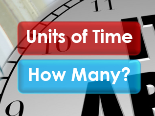 Employability Skills: Time: Units of Time (How Many?)