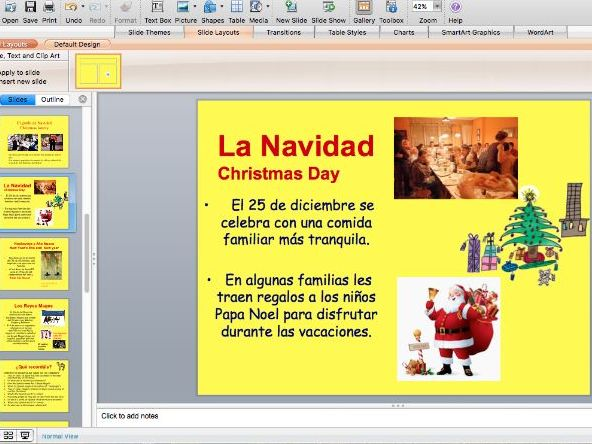 Christmas in Spain - KS2 - In Spanish