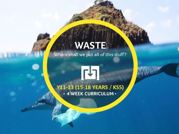 Waste Curriculum KS5