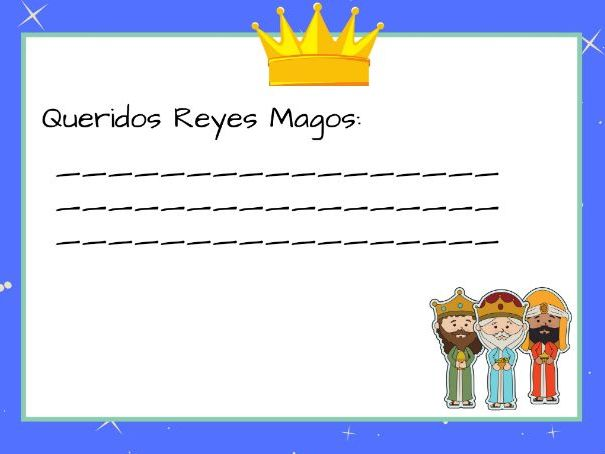 Carta a los Reyes Magos. Letters to the three Wise Men