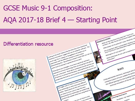 Music GCSE 9-1 Compostion: 2017-2018 Brief 4 Starting Point