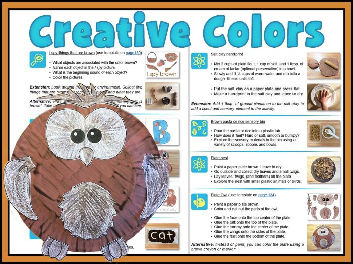 Creative Colors: fun creative activities