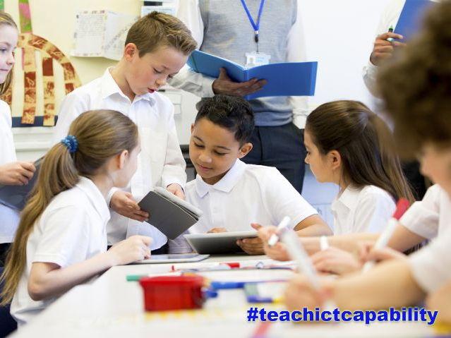 Teach ICT Capability Primary Literacy