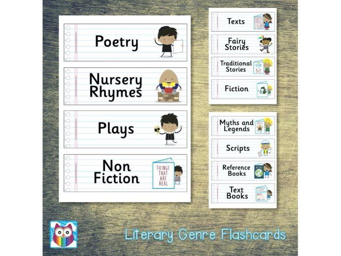 Literary Genres Flashcards