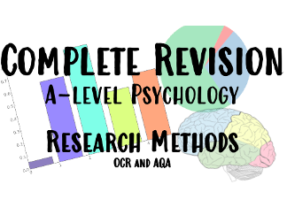 Complete Revision/Teaching guide for A-level Psychology Research Methods OCR and AQA