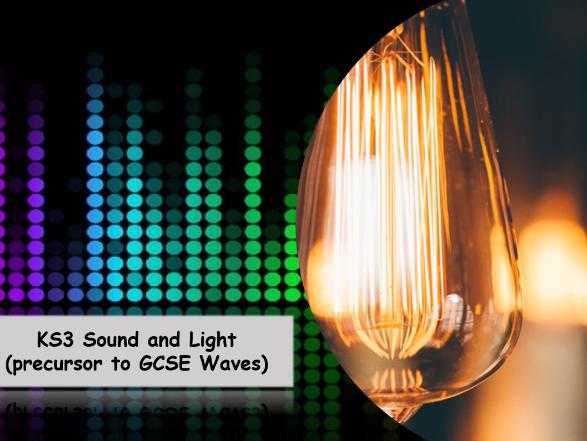 KS3 Sound and Light Full Scheme of work resources