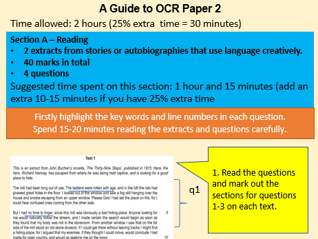OCR Paper 2 Section A Guide