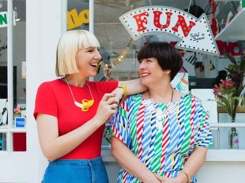Craft Journeys: Tatty Devine, Jewellery Designers