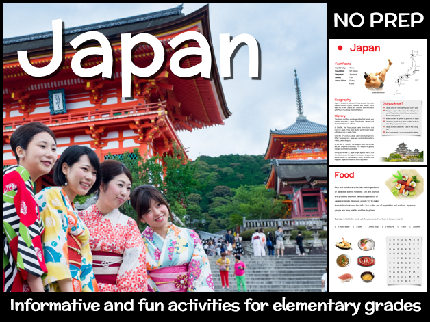 Japan (country study for elementary grades)