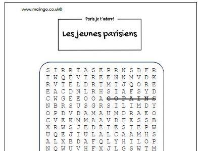Les jeunes parisiens