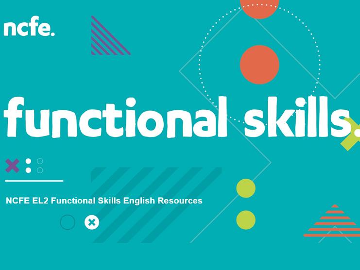NCFE EL2 Functional Skills English Resources