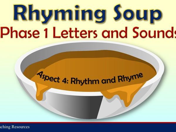Rhyming Soup -  Letters and Sounds Phase 1