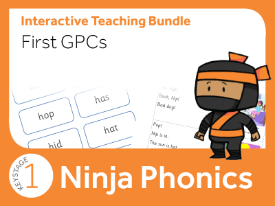 Phonics First GPCs Complete Bundle