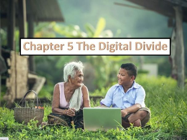Question organized by chapter for the CIE AS, A level (9626) paper1. Ch5 The Digital Divide