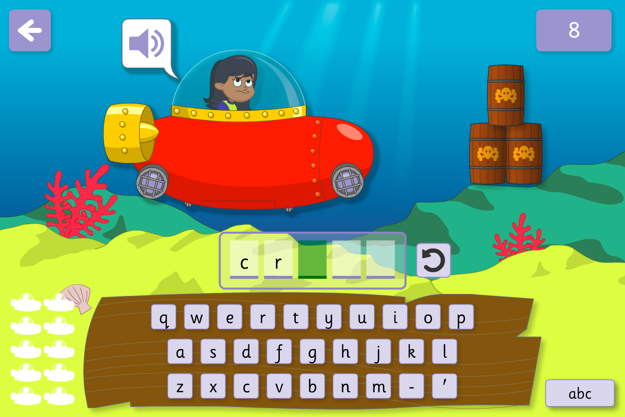 Graphemes - Spell Me Interactive Game - Phase 5