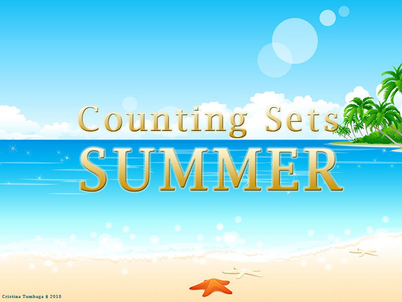 Counting Sets (Summer Theme)