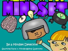 Growth Mindset - Be a Mindset Detective & Banner
