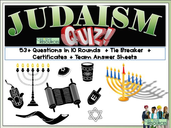 Judaism Quiz