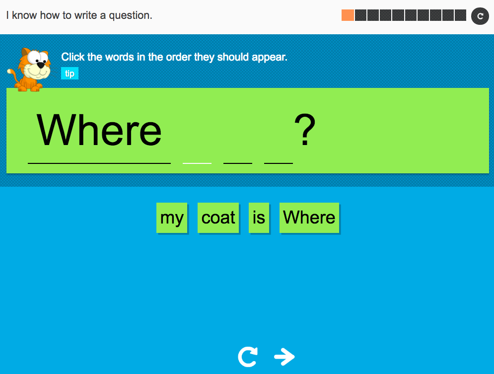 I know how to write a question - Interactive Activity - Year 2 Spag